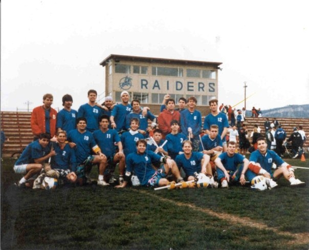 """The Class of 1986  Fort Lewis Raiders Lacrosse- """"Forefathers of Fort Lax"""""""