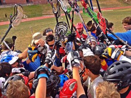 lax camp huddle
