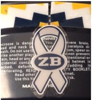 lax helmet ZB decals