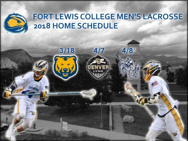 home schedule poster