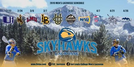 2019 schedule poster